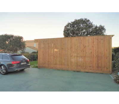 abri de jardin design bois