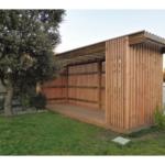 Abri de jardin en bois design